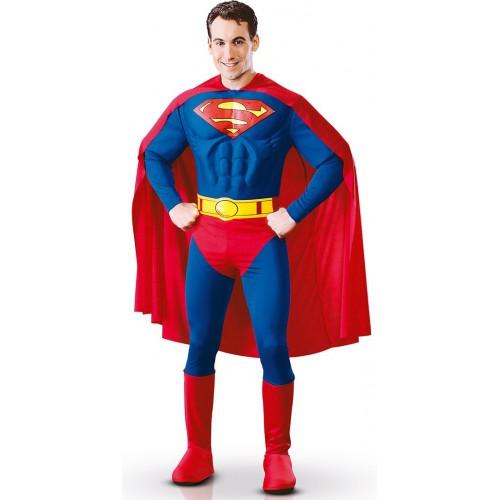 Superman muscles 3d