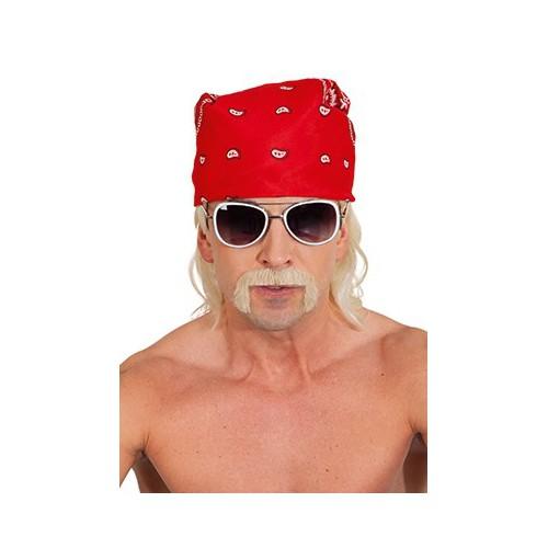 Moustache combattant blonde