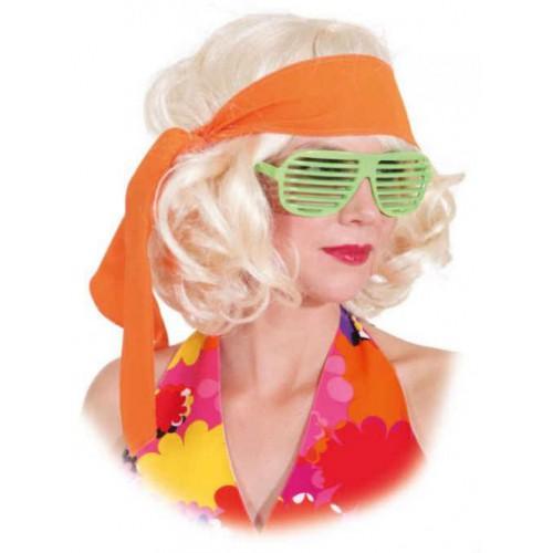 Bandeau hippie orange