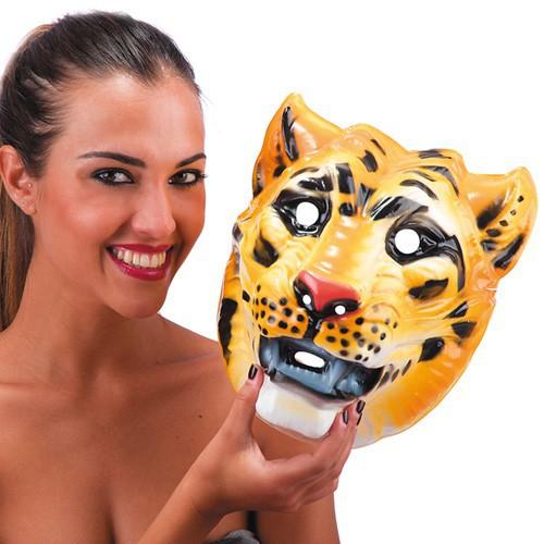 Masque tigre plastique