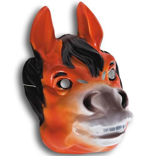 Masque cheval plastique