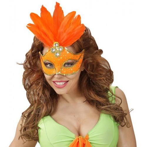 Loup Brésil orange fluo