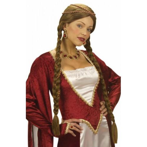 Reine de la renaissance brune