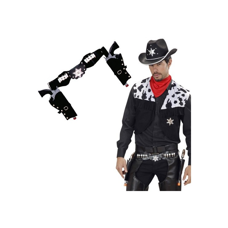 Double holster cowboy