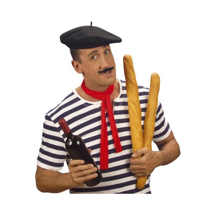 Béret Français noir