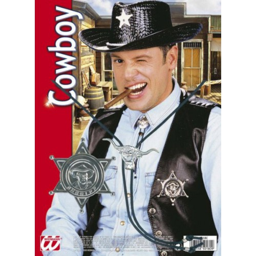 Set cowboy sheriff