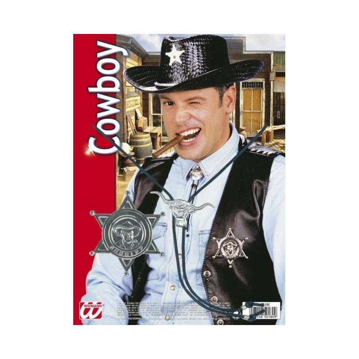 Set cowboy sheriff