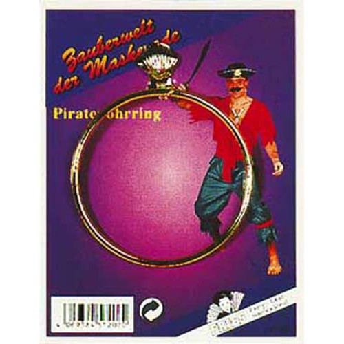 Boucle d'oreille pirate