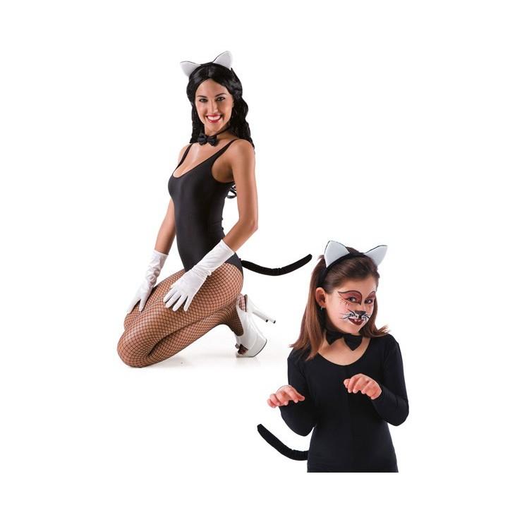 Set chat noir & blanc