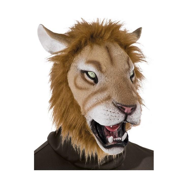 Masque de lion