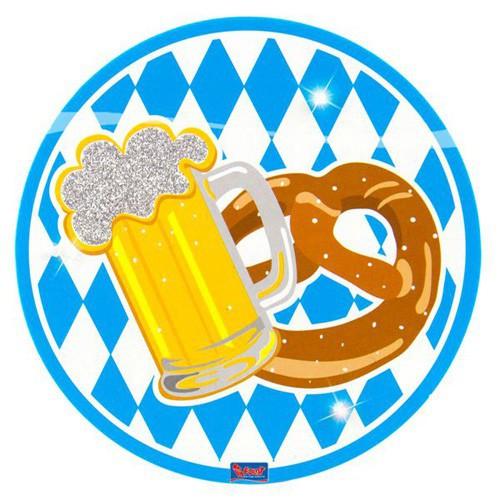 Badge Oktoberfest 12 cm