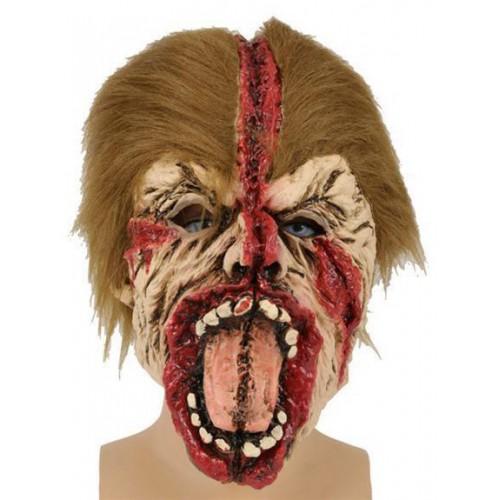 Masque zombie fendu
