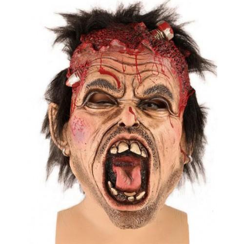 Masque zombie mecano
