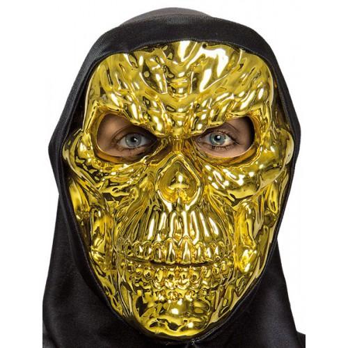 Masque gold skull