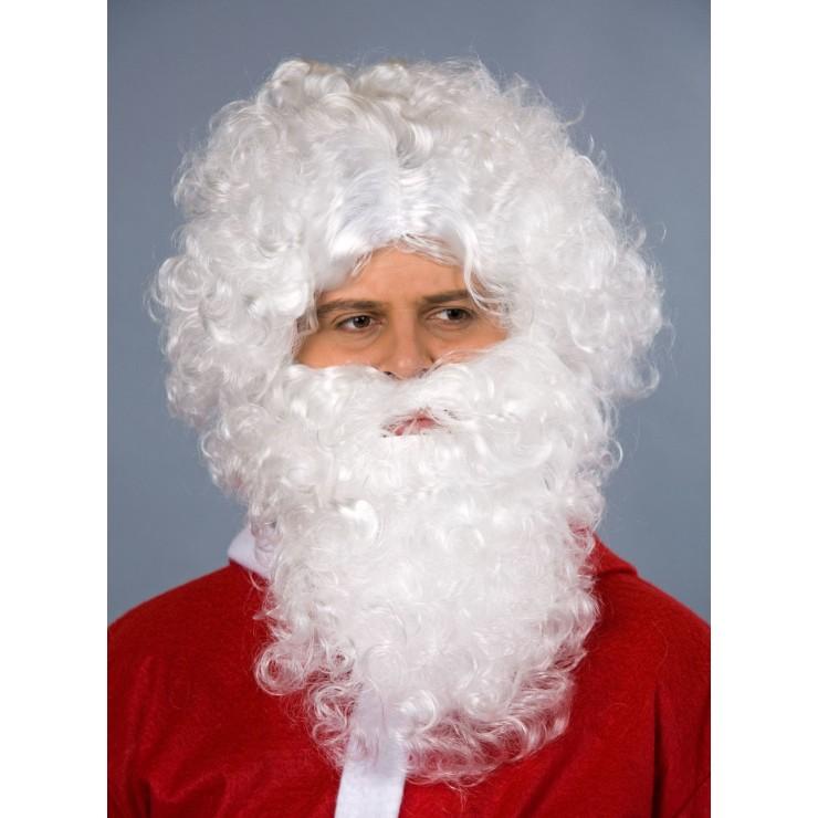 Set père Noël luxe blanc