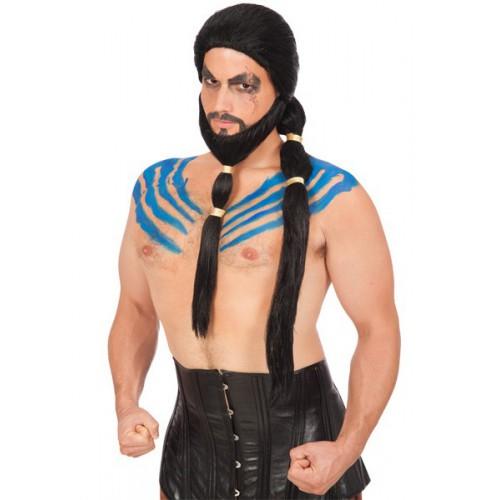 Rebel du désert avec barbe