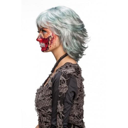 Perruque crazy zombie