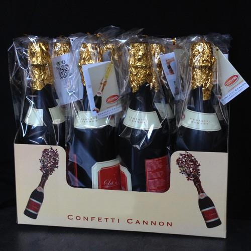 12 canons à confettis Champagne