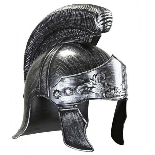 Casque Romain gris adulte