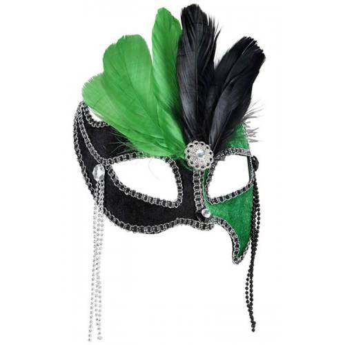 Loup noir & vert Grand bal