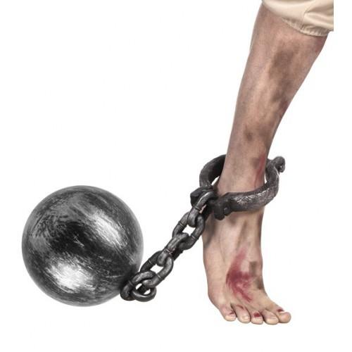 Boulet prisonnier avec chaîne