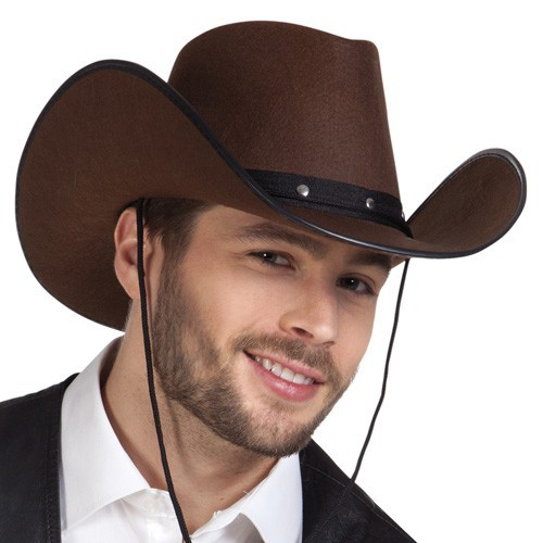 Chapeau cowboy Wichita brun