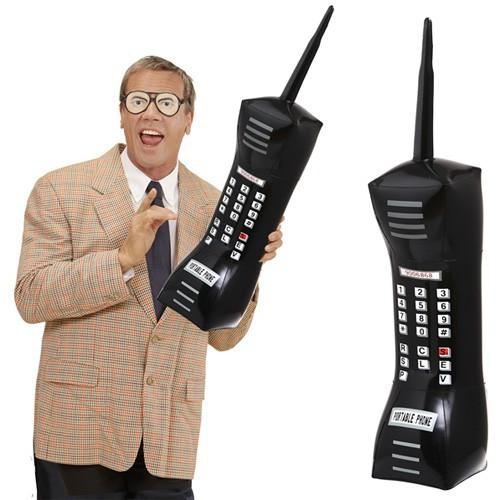 Téléphone portable gonflable 76 cm