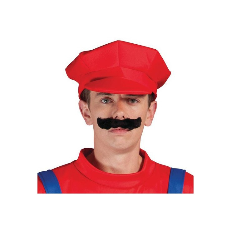 Chapeau plombier rouge