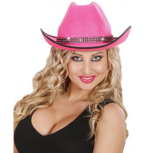 Cowboy rose strass