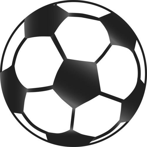 Découpage ballon de foot