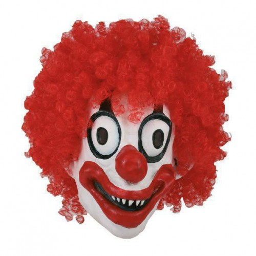 Masque clown cartoon