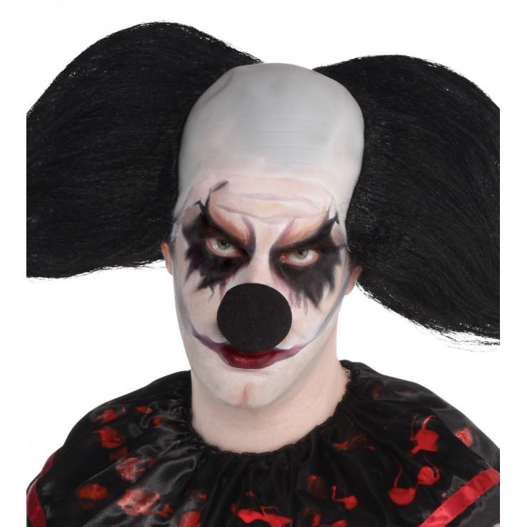 Nez noir clown démoniaque