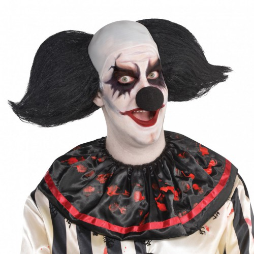 Perruque clown démoniaque