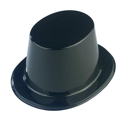 Chapeau haut de forme plastique