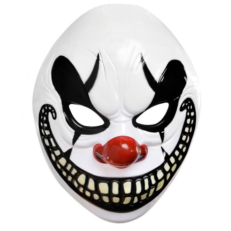 Masque clown démoniaque