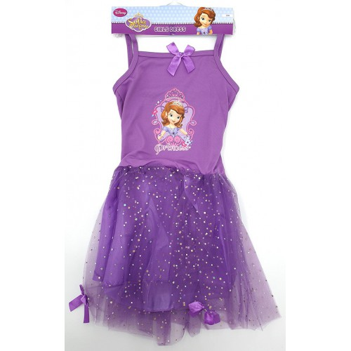 Robe princesse Sofia violette