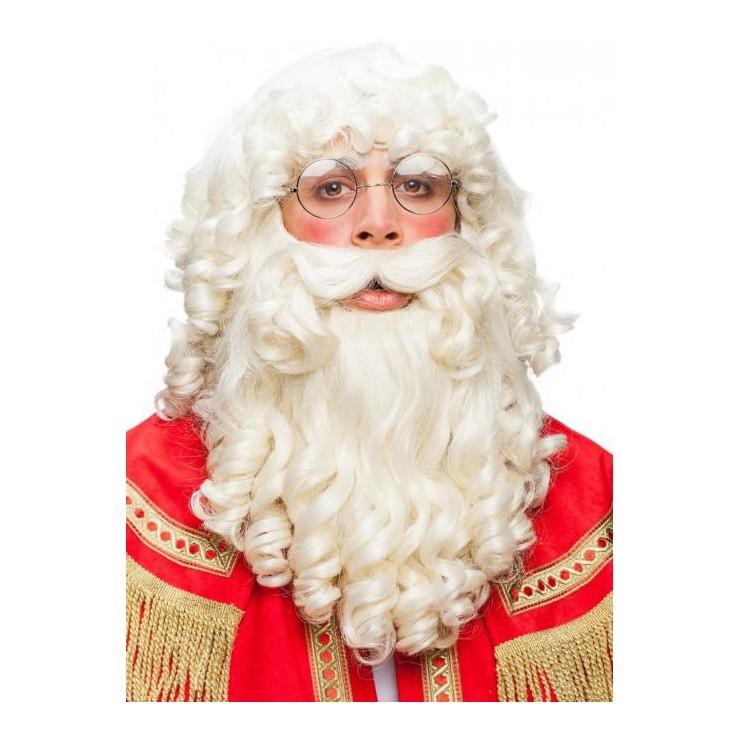 Set père Noël bouclé
