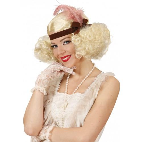 Perruque blonde Charleston