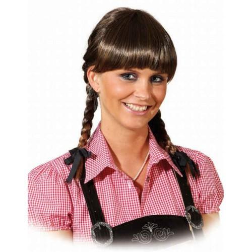 Perruque Lena brune