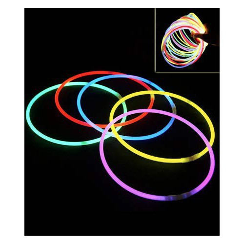 25 colliers fluo