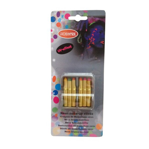Crayons maquillage fluo x6