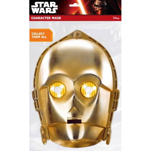 Masque carton C-3PO