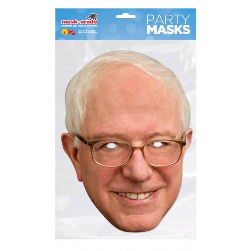 Masque carton Bernie Sanders