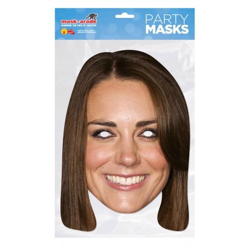 Masque carton Kate Middelton