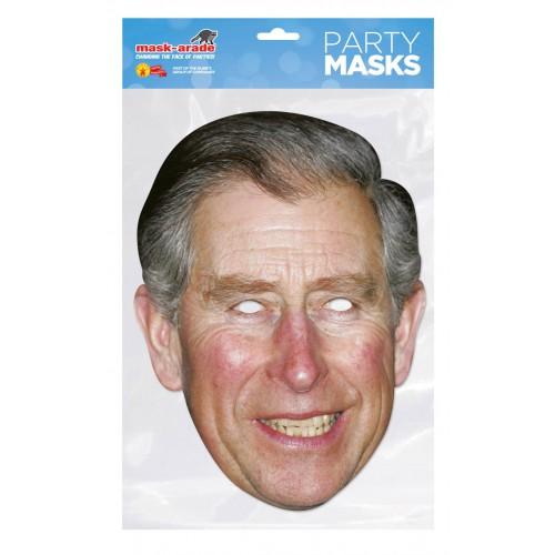 Masque carton prince Charles