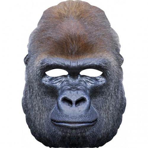 Masque gorille en carton