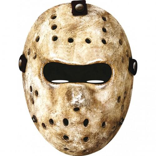 Masque de hockey en carton