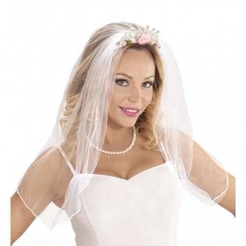 Voile de mariée avec tiare