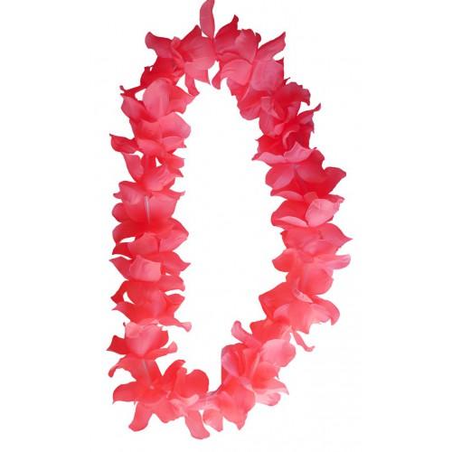 Collier hawaïen rose x48