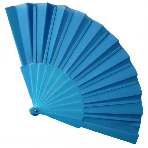 Eventail bleu